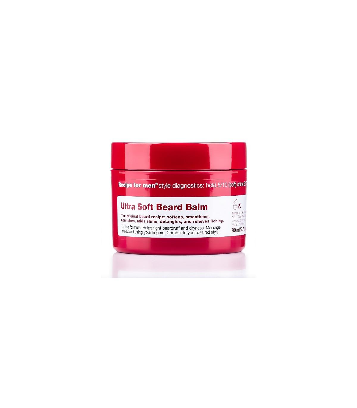 Ultra Soft Beard Balm (Bálsamo para la barba) - 80 ml. Recipe for men ... 8992188d3e6ad